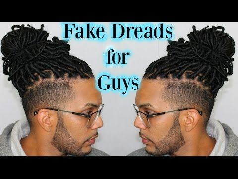 Faux Dreads For Guys Youtube Faux Dreads Faux Dreads Styles