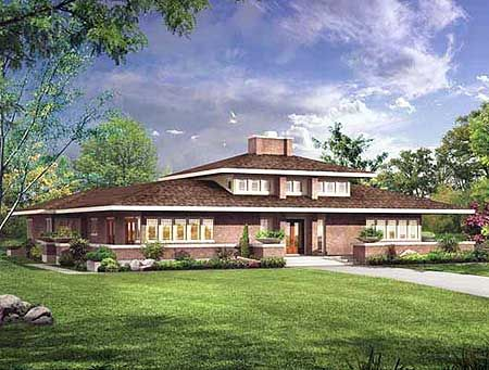 Plan 81312w Stunning Prairie Style Home Plan In 2020 Prairie Style Houses Craftsman House Plans Spanish Style Homes