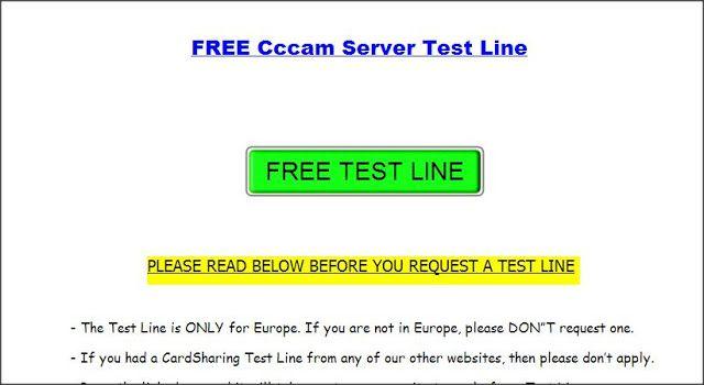 Result of Cccam Server Test Line – My Sweet Home
