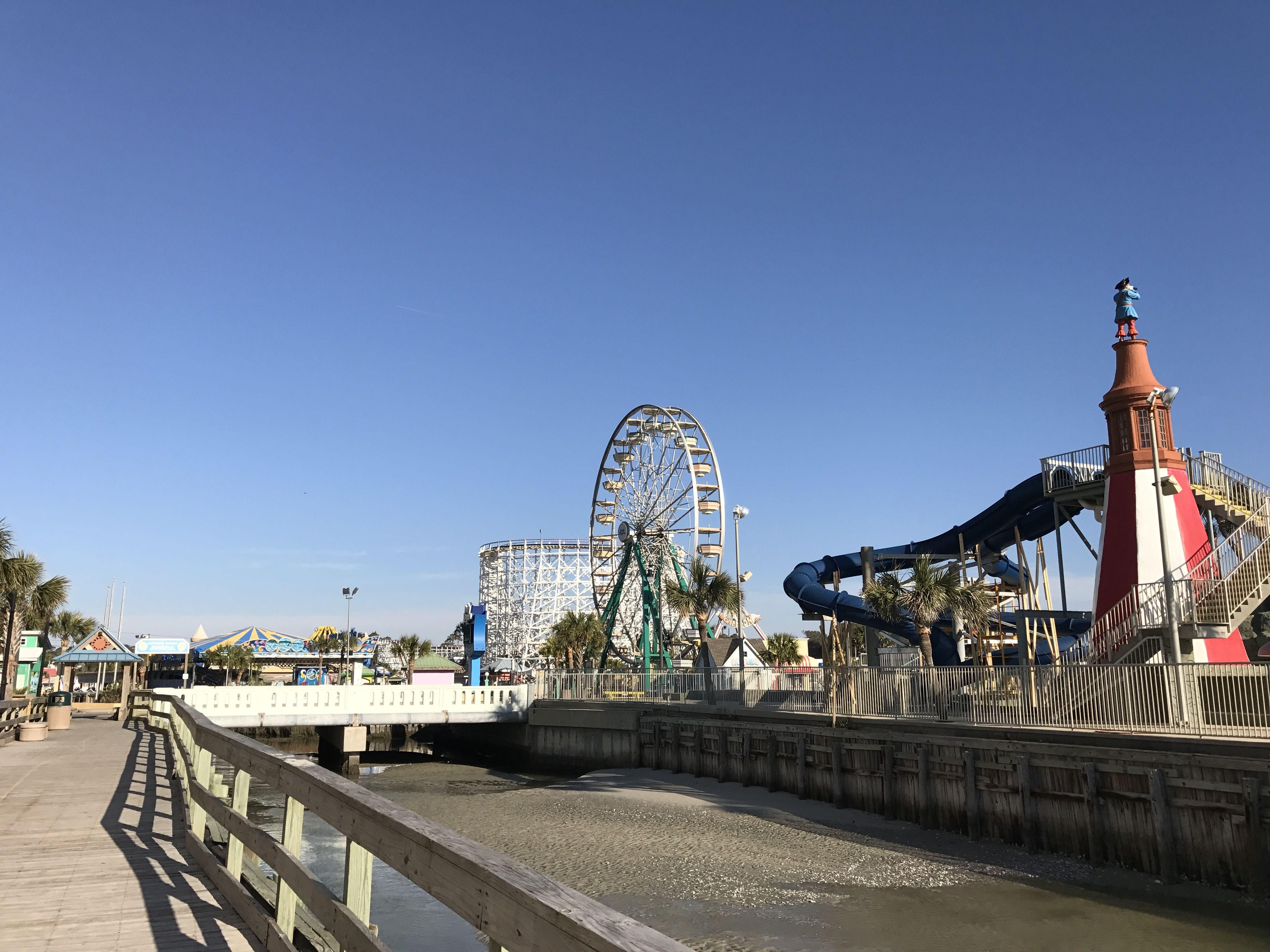 Myrtle Beach South Carolina Family Kingdom Amusement Park With