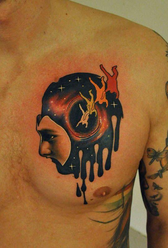 The Tattoo Art Of Marcin Surowiec Mashkulture Tato Karya Seni Lukisan