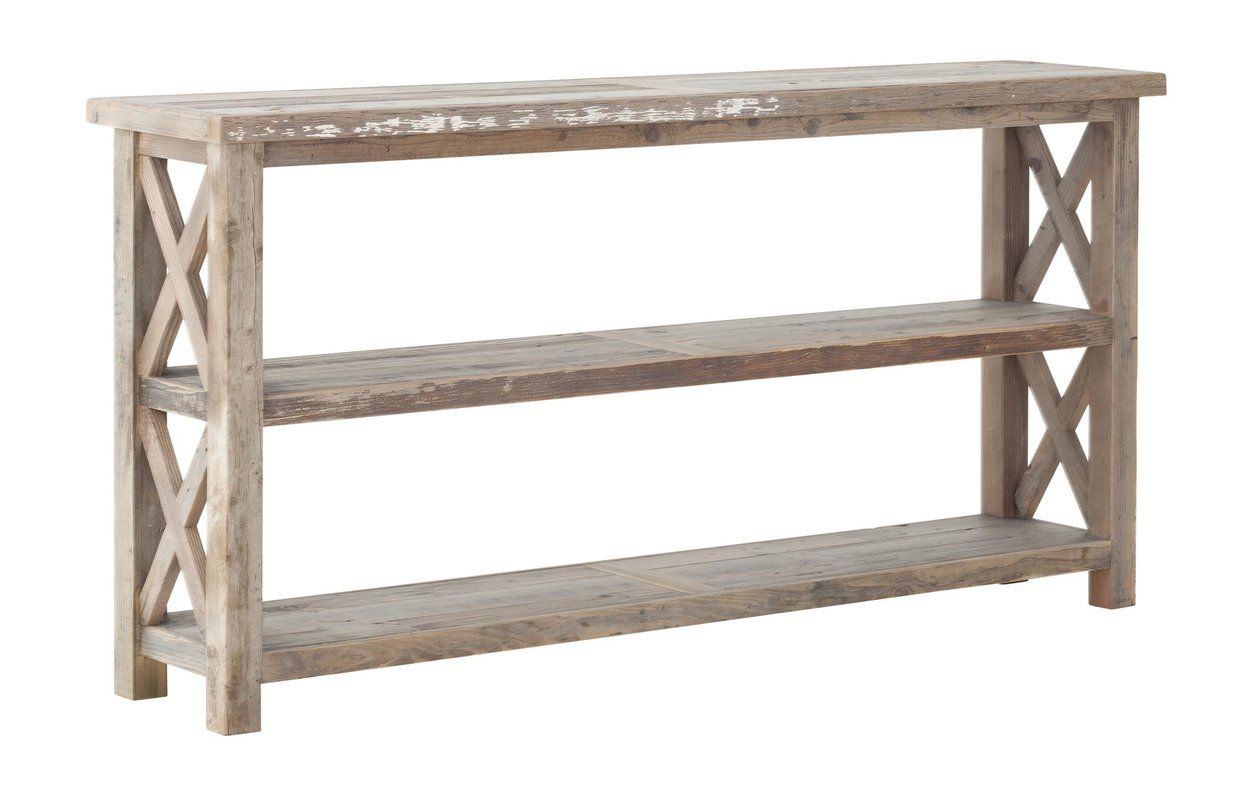 Millicent Reclaimed Wood Console Table Reclaimed Wood Console Table Wood Console Wood Console Table