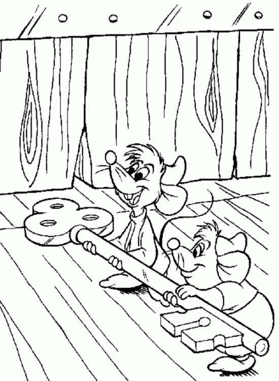 Princess Cinderella Coloring Pages For Kids Free Printable
