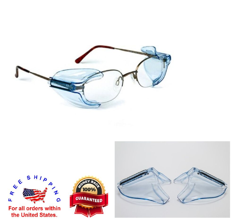 Details about Universal Safety Glasses Side Shields B26