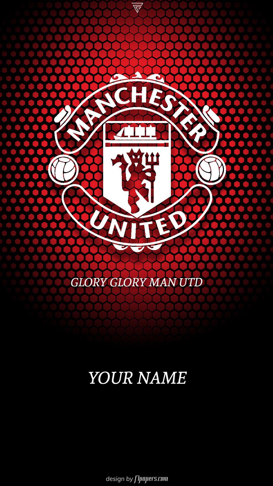 Manchester United Hd Wallpaper Manchester United Logo Manchester United Manchester United Art