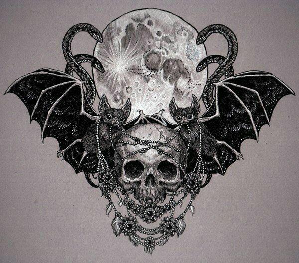 Pin de catie holland em tattoos pinterest for Gothic neck tattoos