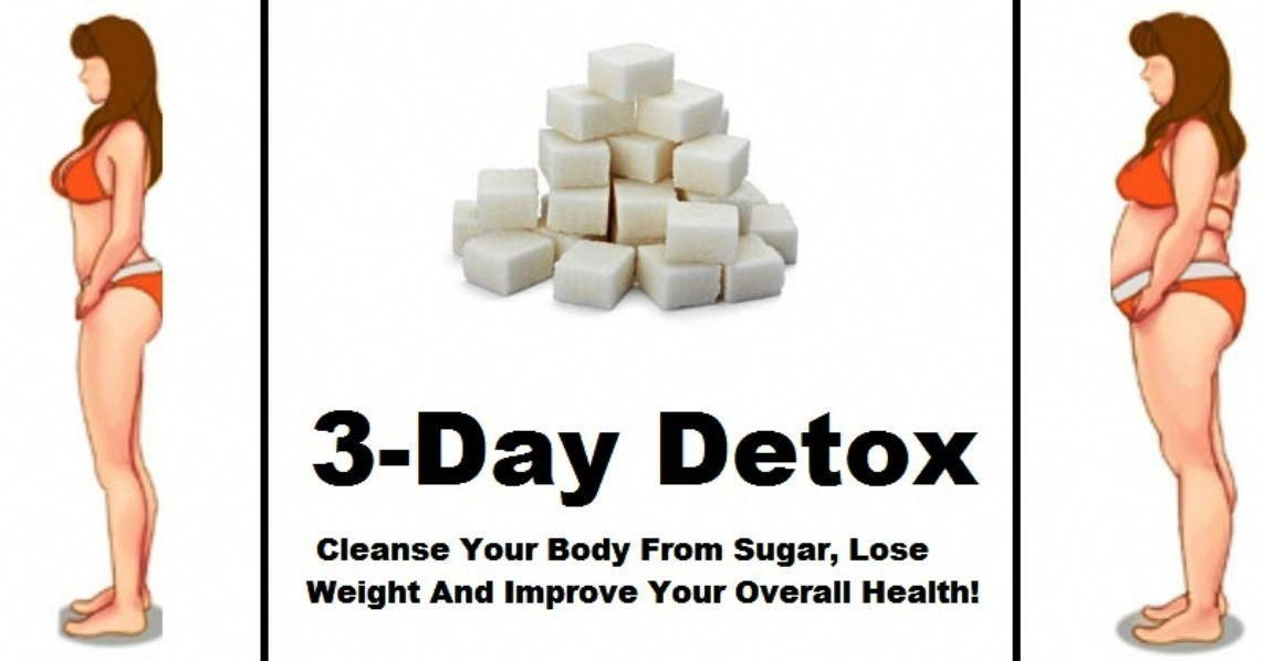 3 DAY DETOX PLAN TO CLEANSE YOUR BODY FROM SUGAR #sugardetoxideas #howtosugardetox #sugardetoxplan