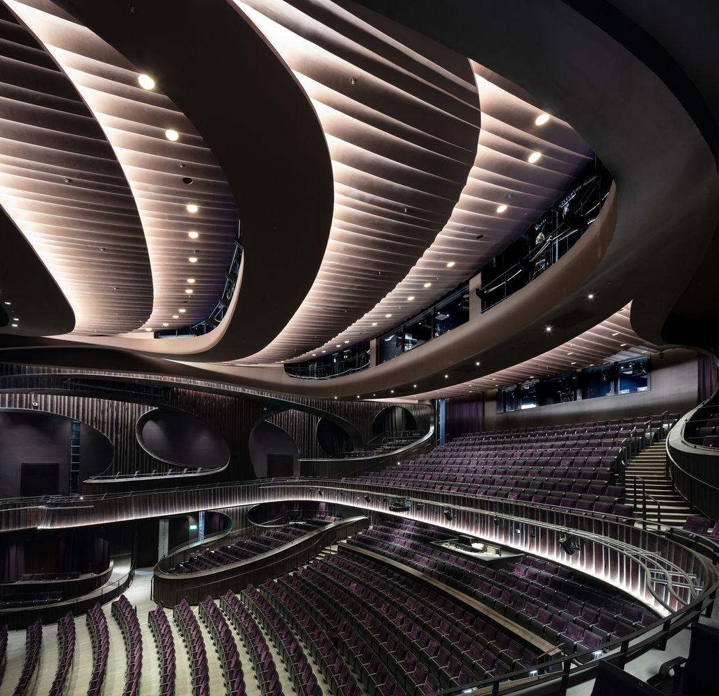 Gallery Of 14 Outstanding Concert Halls A Perfect Match Between Acoustics And Aesthetics 5 Auditorium Design Concert Hall Architecture Project