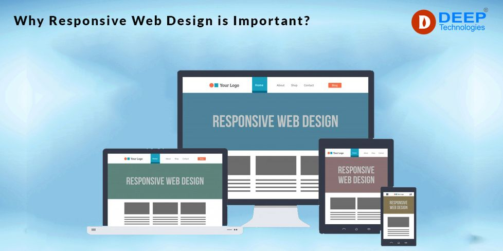 Why Responsive Website Design Is Important In 2020 In 2020 Responsive Website Design Website Design Web Design