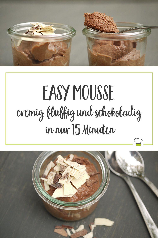 Die beste Mousse au Chocolat – sehr einfach und genial lecker, ein Wochenendgenuss!