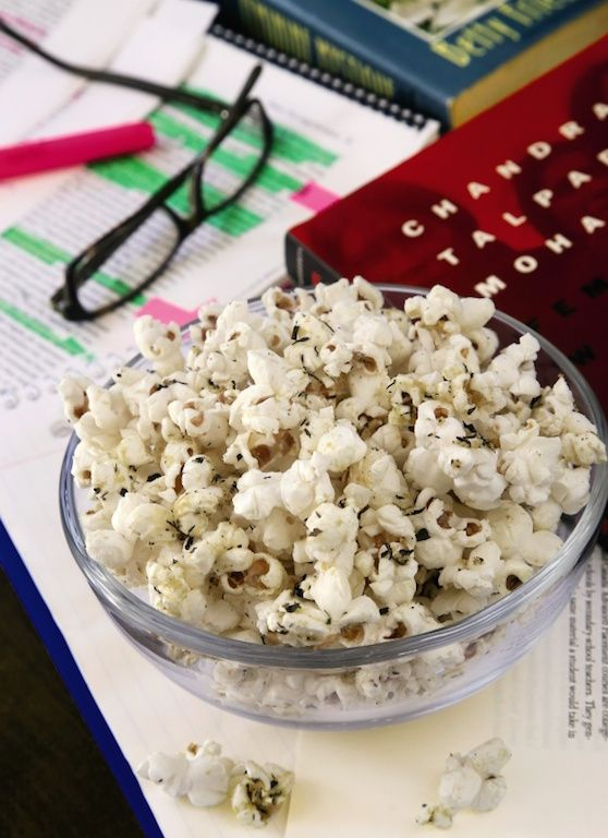 Stovetop Herb Popcorn