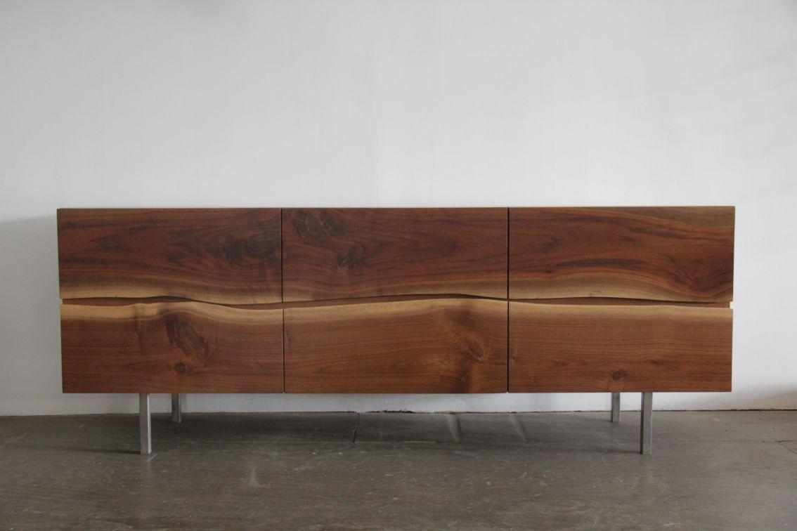 Credenzas Modernas De Madera : Yasu credenza interior design ii muebles