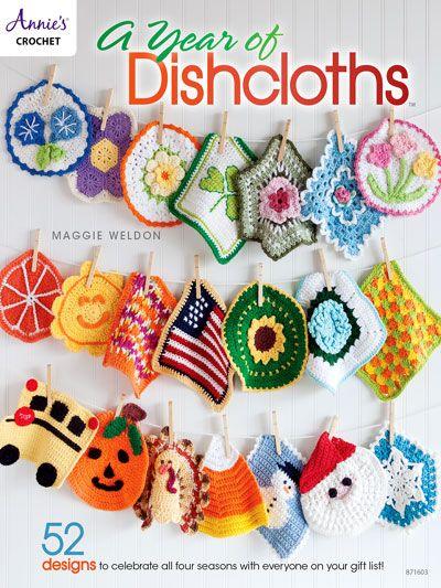 Crochet - Un año de paños de cocina - # 871603 | Crochet | Pinterest ...