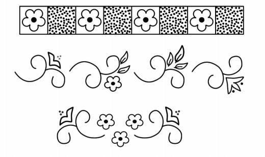 esquinas de arabescos para pintar - Buscar con Google | moldes ...