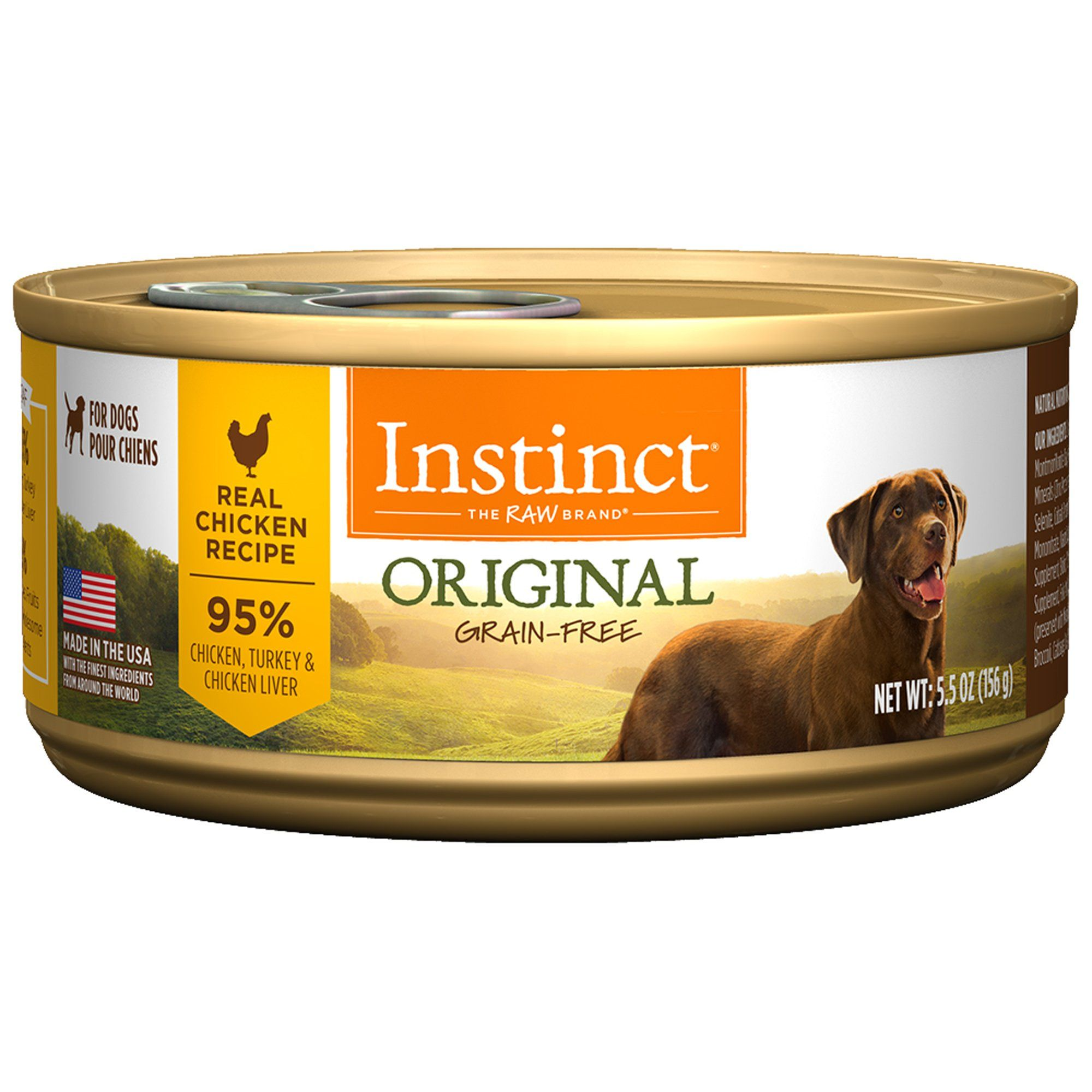 Instinct Grain Free Chicken Canned Dog Food By Nature S Variety