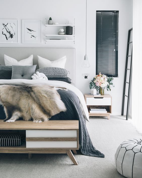 5 Tips For Creating A Cozy Calming Bedroom Idee Chambre Deco