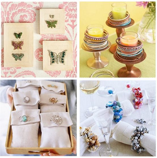 Butterfly pins become art! jewelry as decor bhg