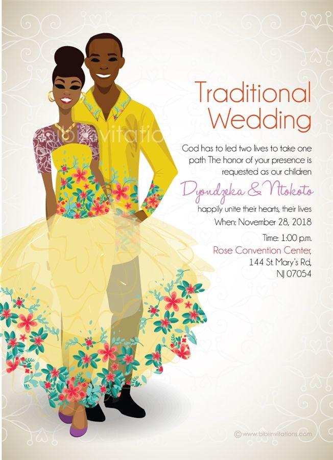 Traditional zulu wedding invite google search h pinterest zulu traditional zulu wedding invite google search stopboris Choice Image