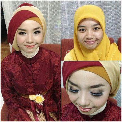 Rias Makeup Natural Dan Hijab Wisuda Di Kota Malang Hijab Gaya Busana