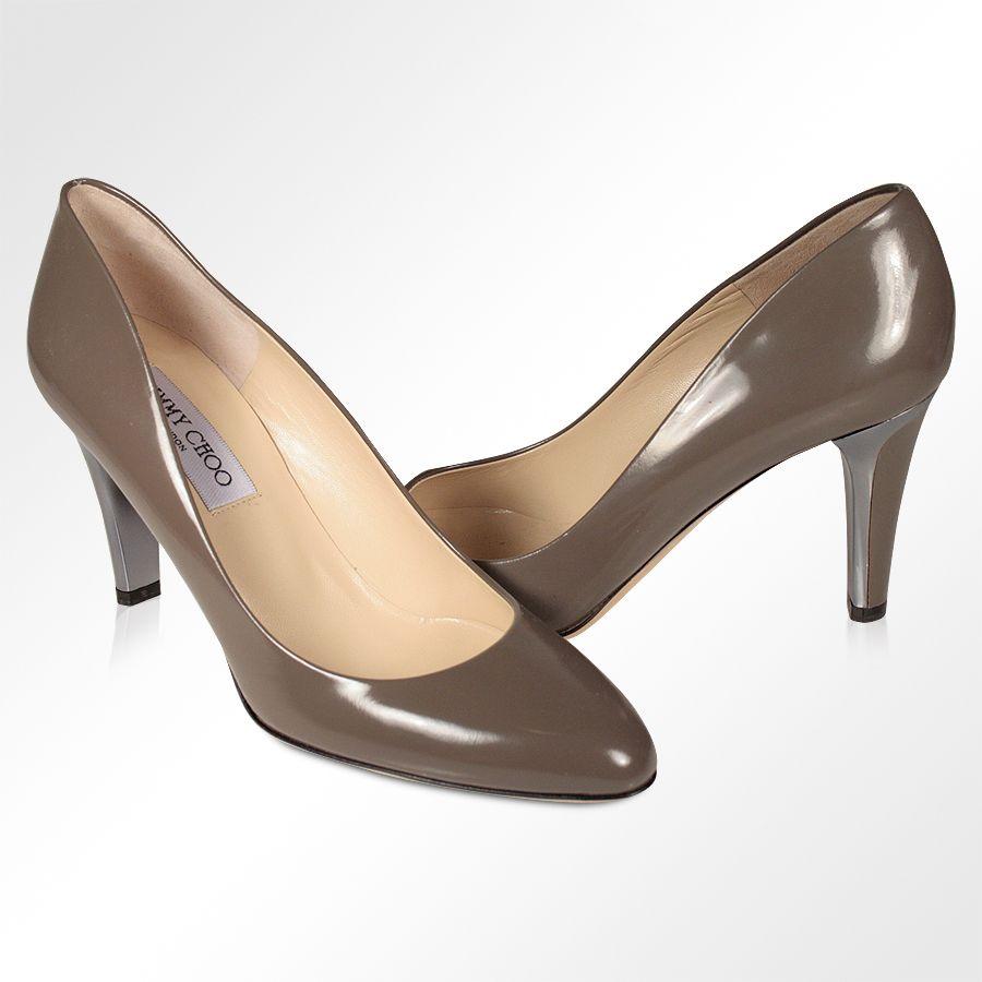 7c430da170b1 Jimmy Choo Designer shoes for women Gray leather Pumps (JCW11 ...