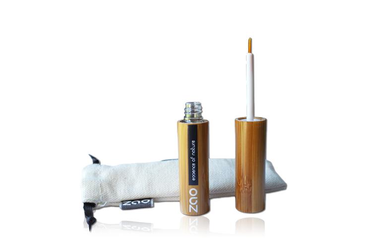 Zao Organics Liquid Eye Liner Black Eyeliner, Face