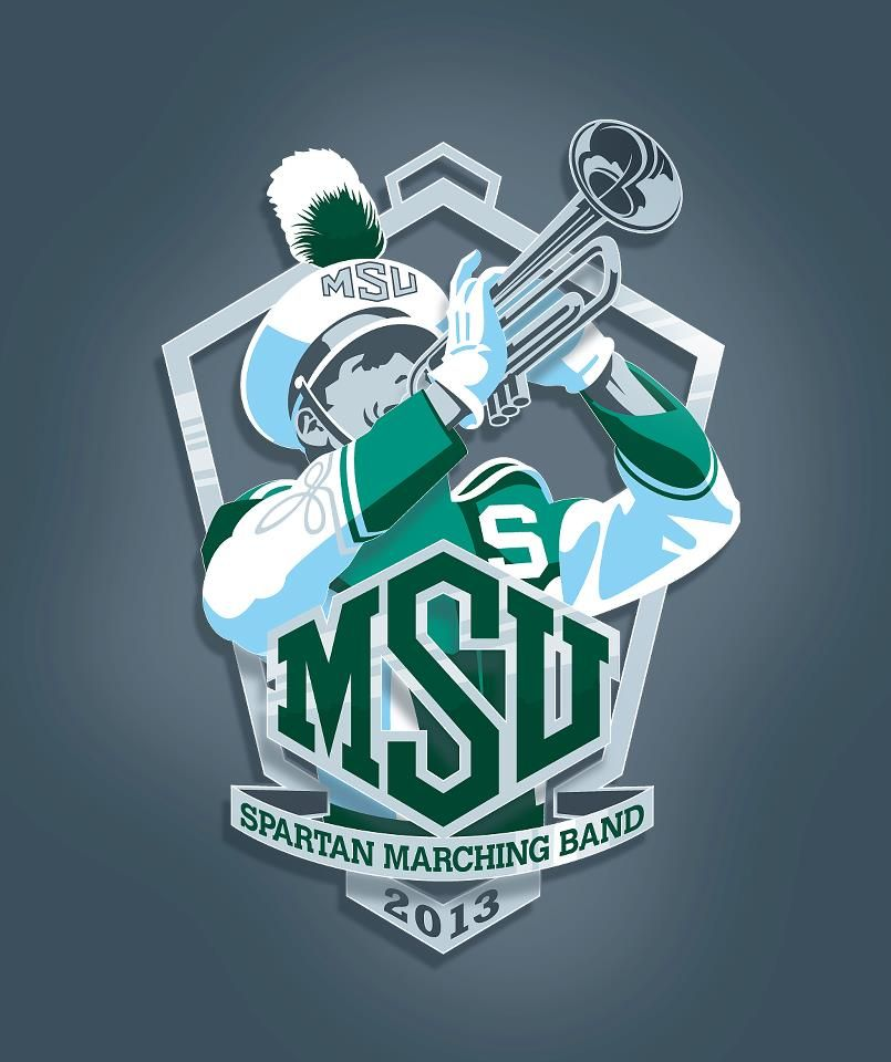 Spartan Marching Band Marching Band Michigan State University Marching Band Mom