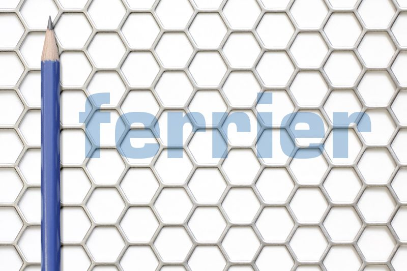 1 2 Hexagon An Attractive Option To Chicken Wire And Wire Mesh Available In 4 X 8 Sheets Perforated Metal Expanded Metal Reading Light