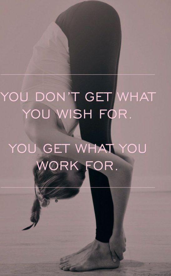 Sie bekommen, wofür Sie arbeiten - motivierende Trainingszitate, beste Fitnesszitate ...   - Fitness...
