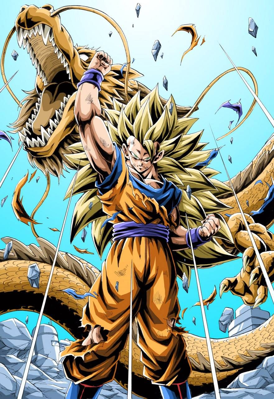 Goku SSJ 3 wallpaper by DanielCasgriGX - 64 - Free on ZEDGE™