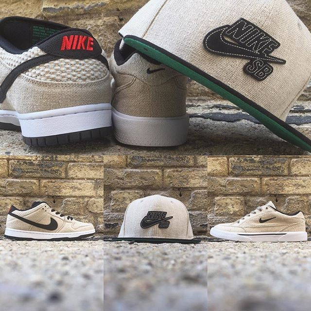 d7d4952b037d8 Nike Skateboarding gets earthy with their  Raw Canvas  pack arriving this  Saturday