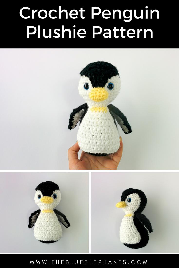 Penelope The Penguin: Free Penguin Crochet Pattern   Amigurumi ...