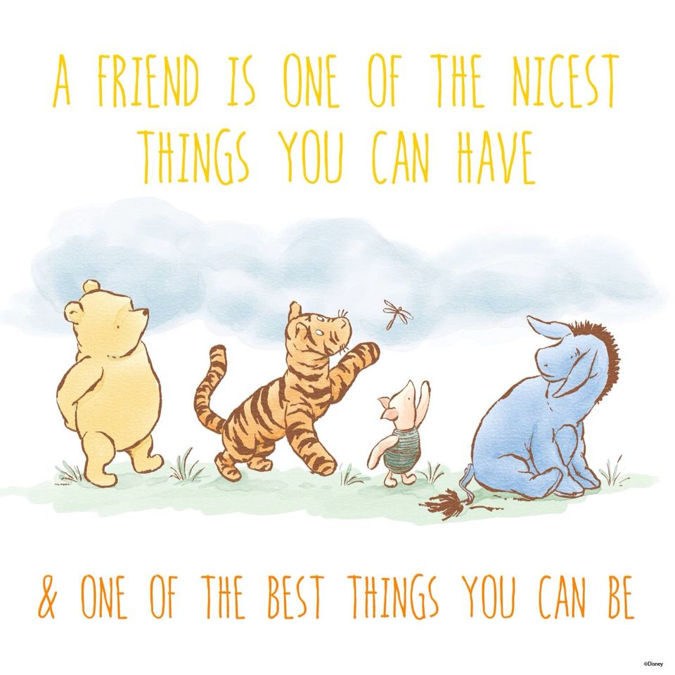 Winnie The Pooh Quotes About Love And Friendship This Sunday August 2Nd Is Happyfriendshipday Thank You To All