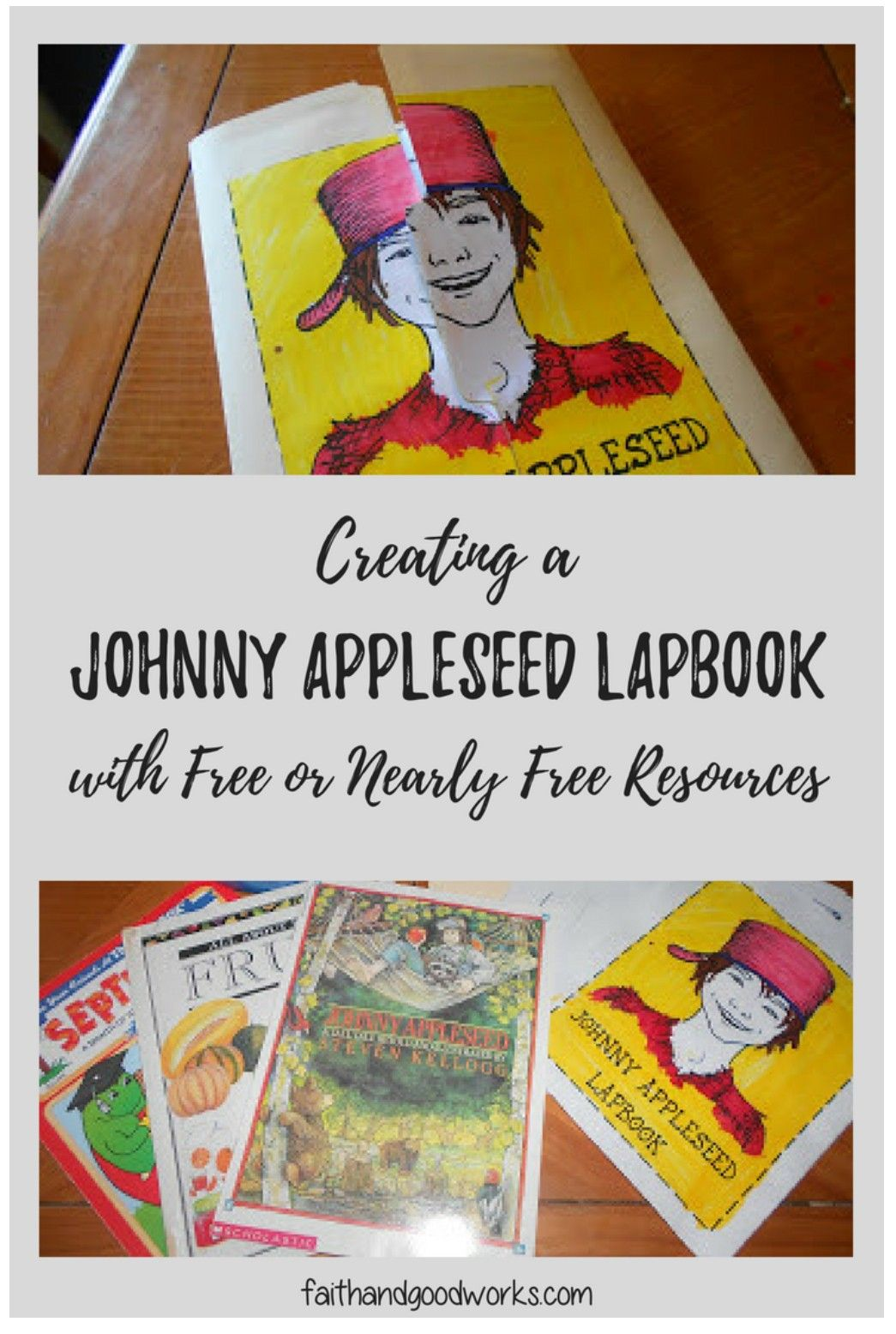 Johnny Appleseed Lapbook In