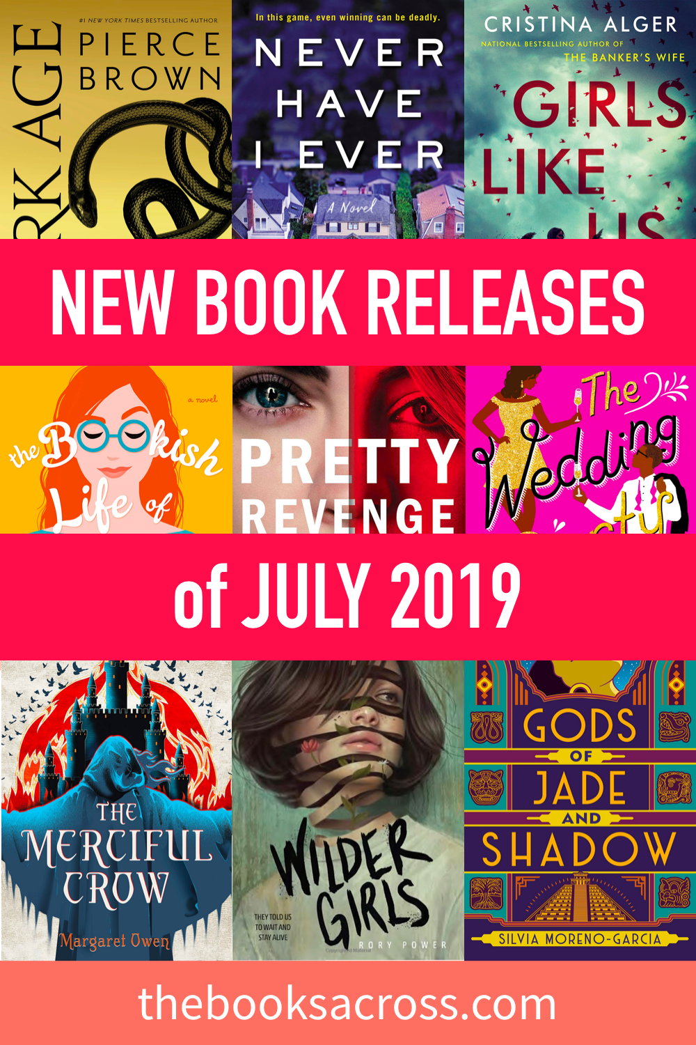 14 New Book Releases coming out in July 2019 | Books, Movies