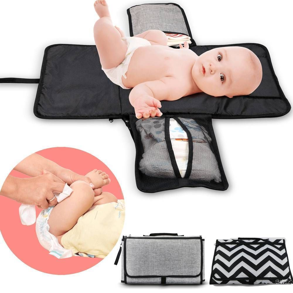 New 3 In 1 Waterproof Portable Baby Diaper With Images Baby Changing Pad Waterproof Changing Pad Diaper Changing Pad