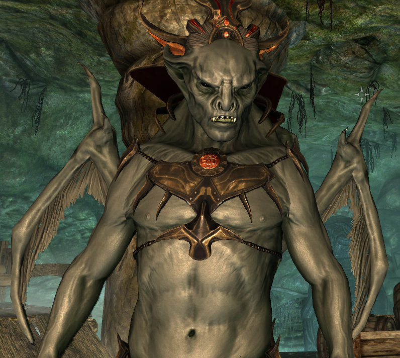 Skyrim Vampirelord Vampire Lord Armor Of Harkon At Skyrim Nexus