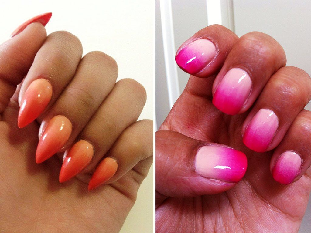 Ombre Nail Colour Trend | Nail art trend | Pinterest | Nail color ...