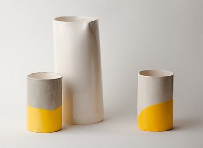 Susan Dwyer ceramics: yellow!