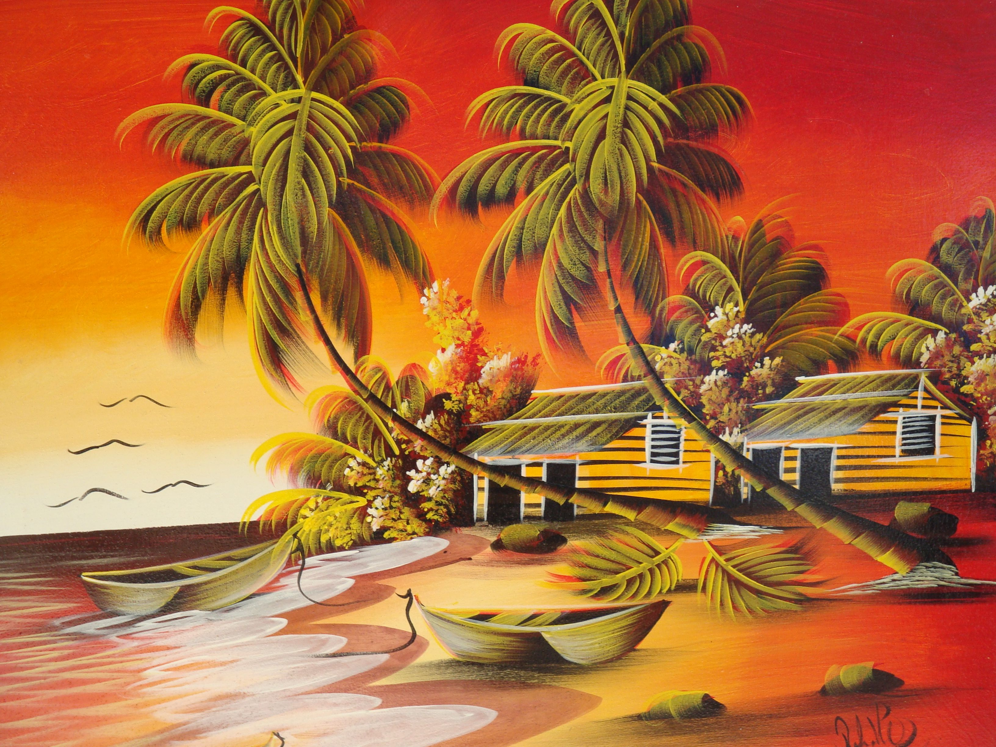 Dominican Republic Paintings - Google Love Arte Latino And