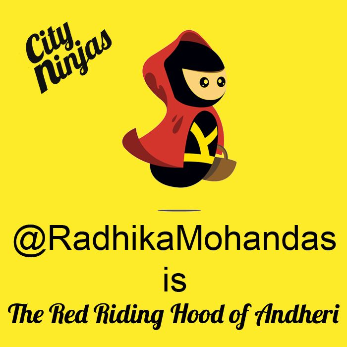 Mondays Radhika Mohandas Is The Red Riding Hood Of Andheri Red
