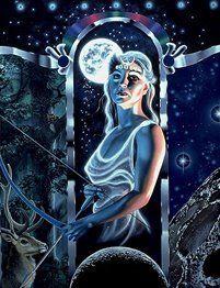 Deusa Diana O Nome Dianismo Foi Inspirado Na Faceta Da Deusa Greco
