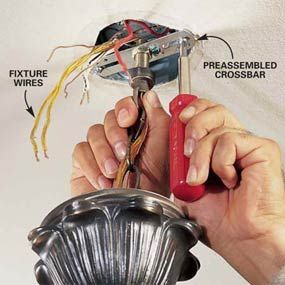 How To Hang A Ceiling Light Fixture Step By Step Detailed Instructions With Pictures The Best Instruct Installing Light Fixture Ceiling Lights Light Fixtures