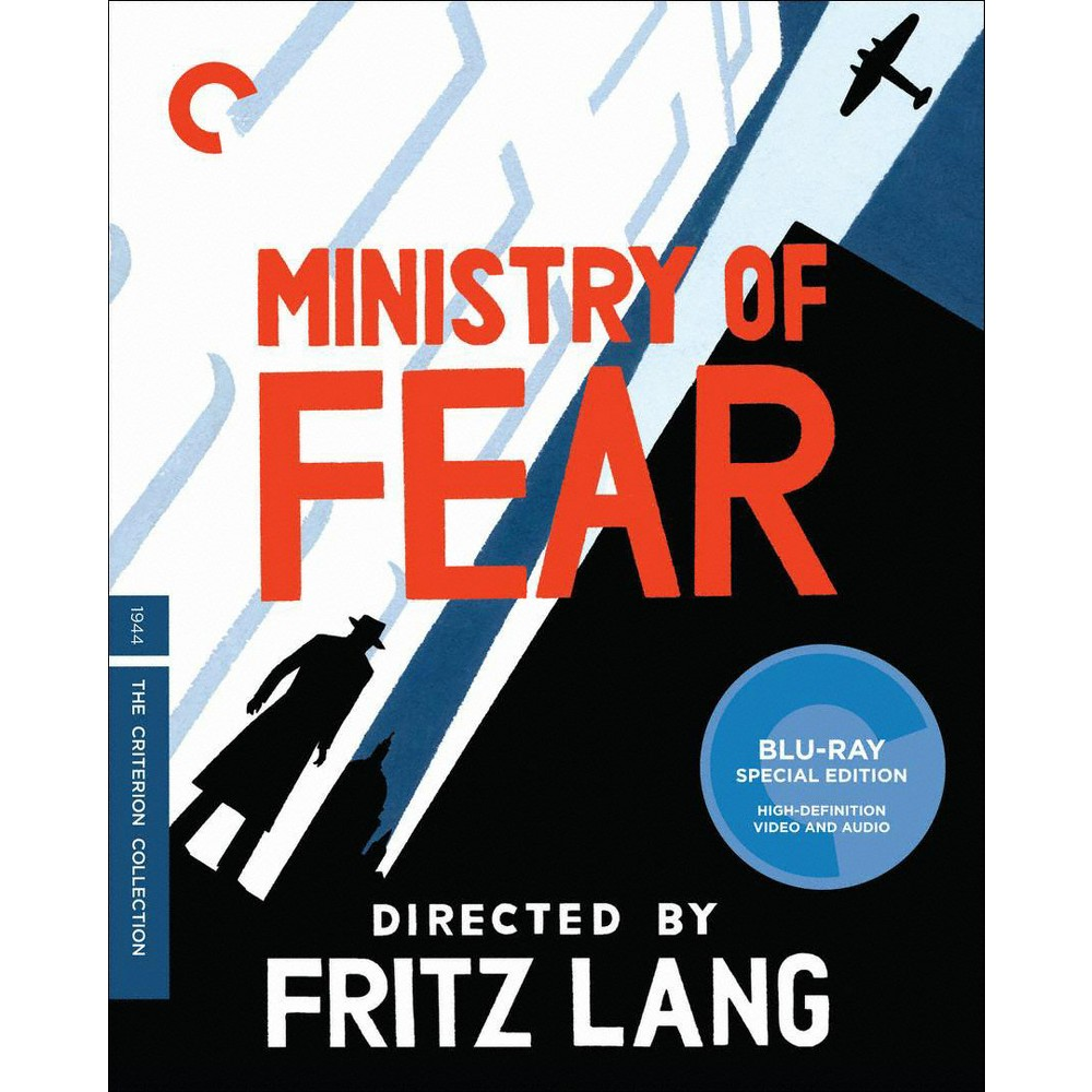 Ministry Of Fear Blu Ray The Criterion Collection Film Noir Full Movies Online Free