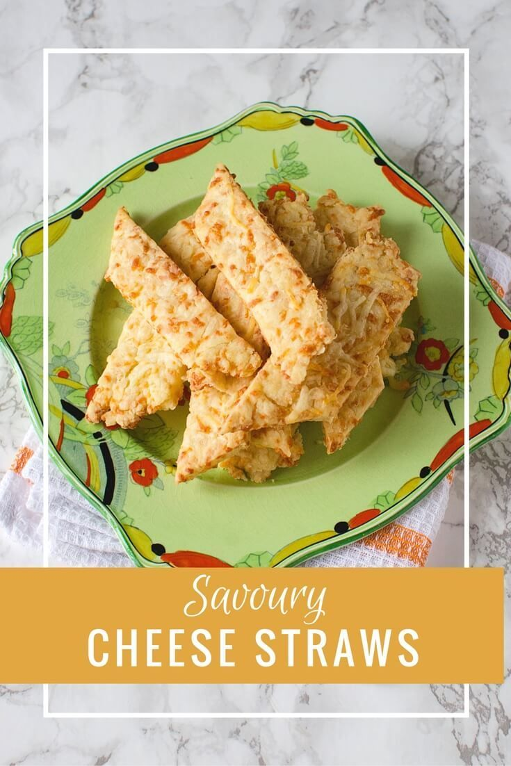 Savoury Cheese Straws are a delicious addition to your holiday treat tray. Also perfect for a snack any day. Cheesy!
