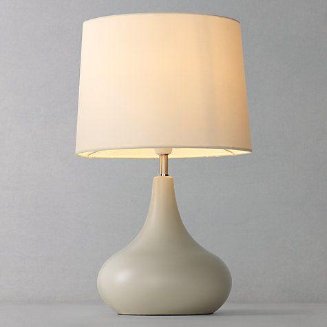 John Lewis Partners Laura Touch Lamp Fir Green Touch Lamp Bedside Night Lamps Bedside Lamp