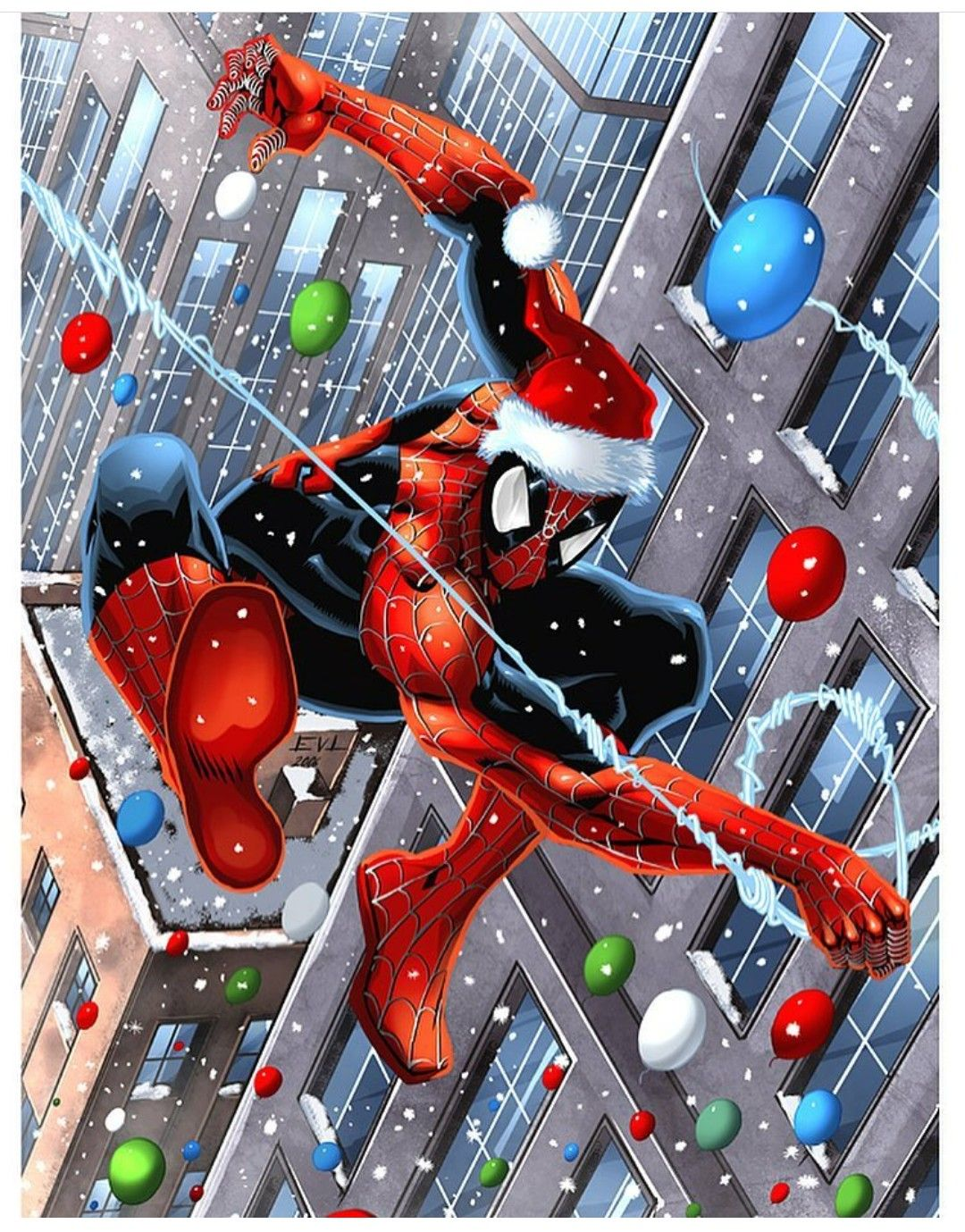 Spiderman Christmas.Merry Christmas Spider Man The Amazing Spider Man