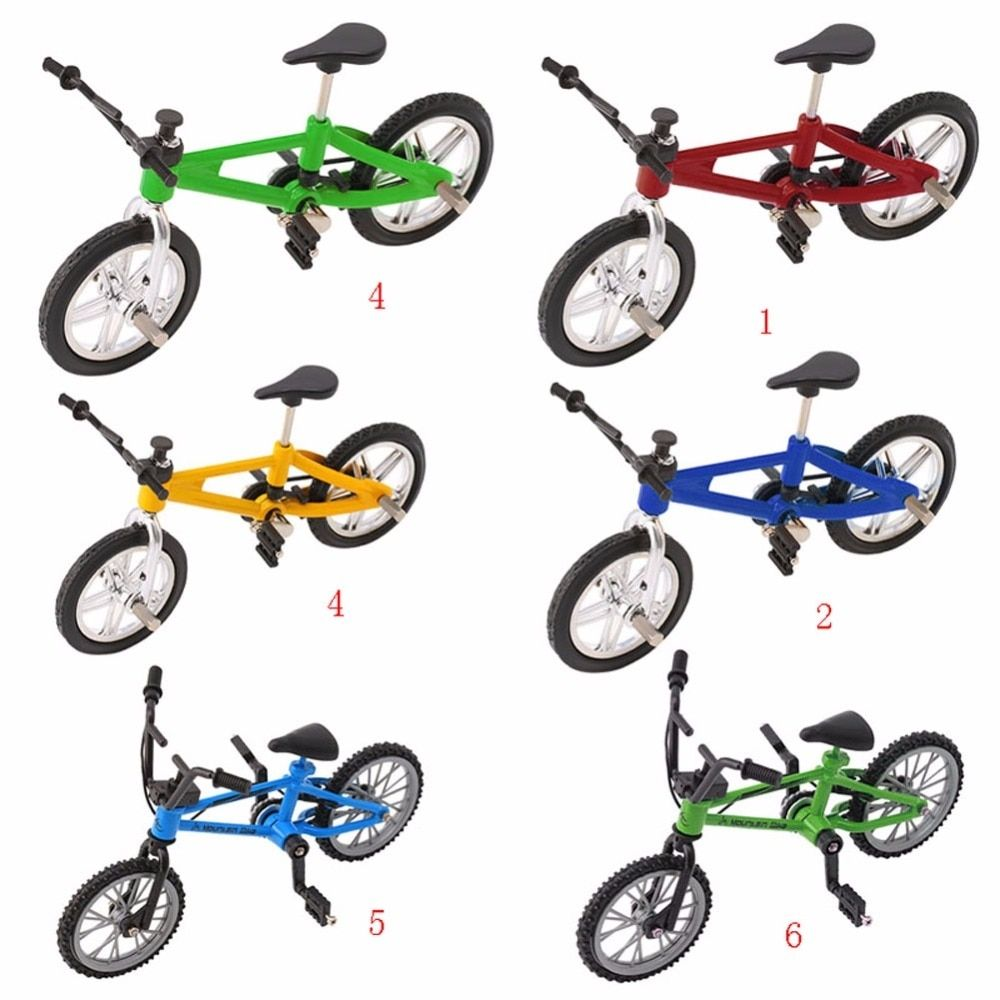 skateboard Mountain Finger Bike Fixie BMX Bicycle Boy Toy DIY Creative Game