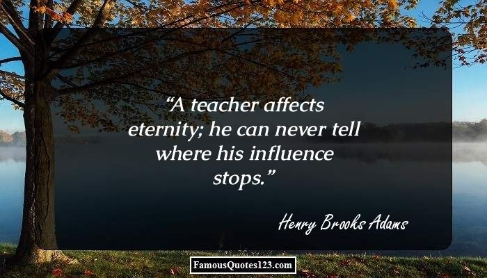 Teacher's Day Quotes Famous Quotations And Saying On Teachers Awesome Famous Quote Of The Day