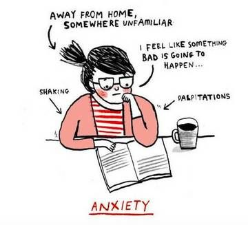 These Artists Finally Capture What It Feels Like To Live With Anxiety - Dose - Your Daily Dose of Amazing
