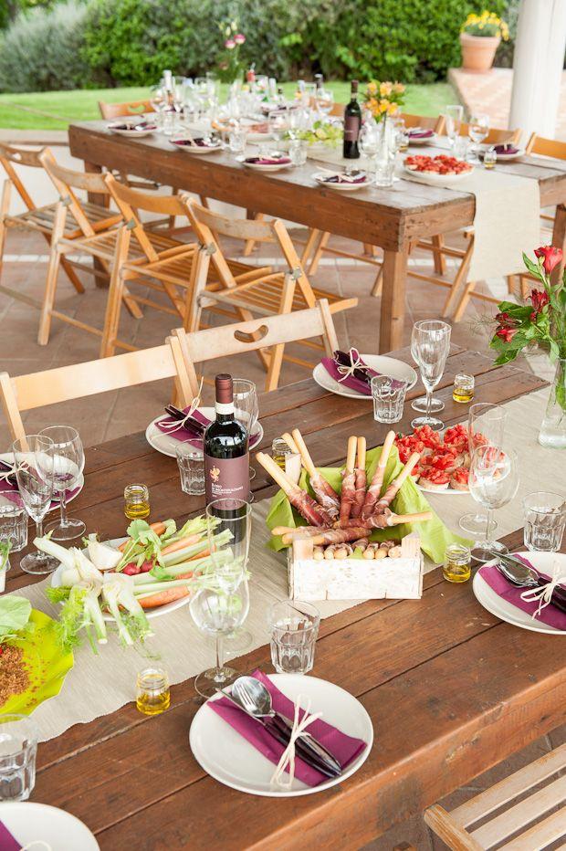 Decoracion y diseño-Decoración Living- DECOCASA » Decoeventos: una mesa al aire libre